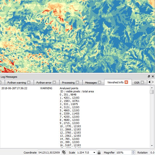 Visibility analysis for QGIS 3 0
